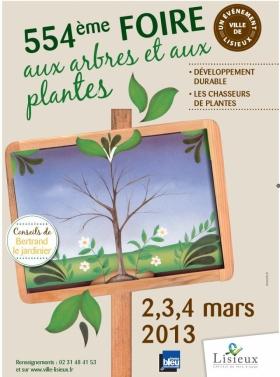 554ème Foire aux arbres et aux plantes de Lisieux   Amap de la Vie